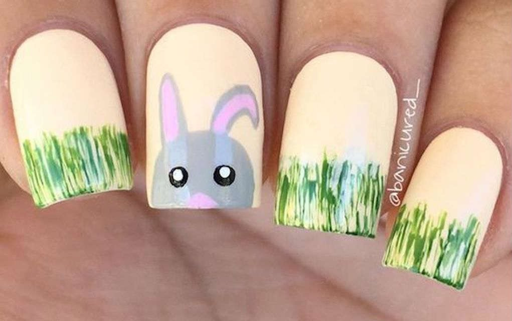 Easter nail from Banicured - Mykidstime