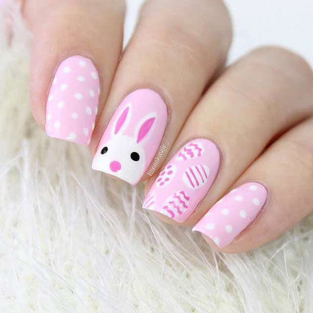 Easter nail from Hannah Weir - Mykidstime