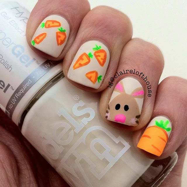 Easter nails from Claire Lofthouse - Mykidstime