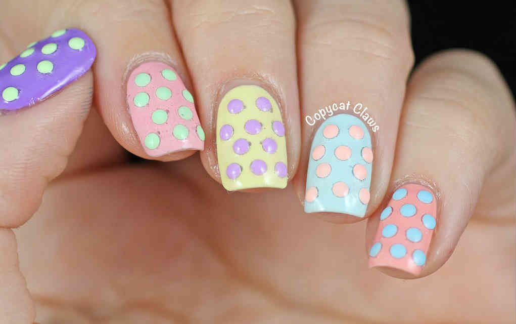 Easter nails from Copycat claws - Mykidstime