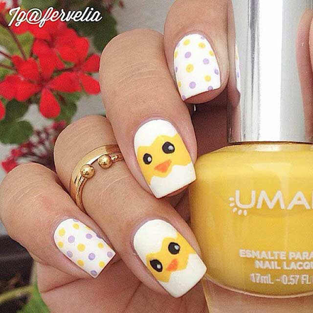 Easter nails by Fervelia - Mykidstime