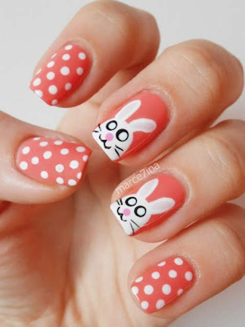 Easter nails from Marce7ina - Mykidstime