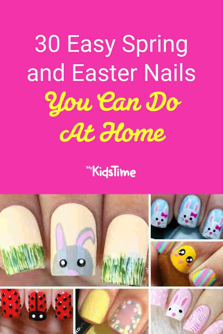 Easter nails - Mykidstime