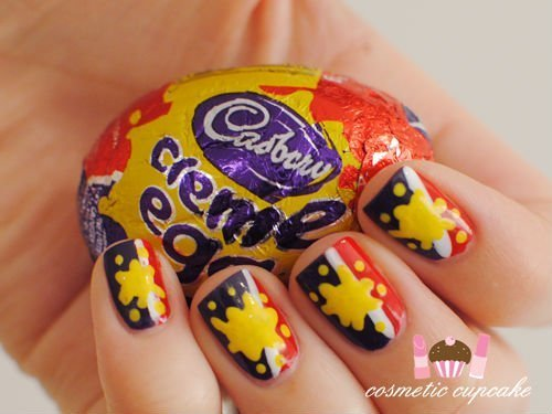 Easter nails from Cosmetic Cupcake - Mykidstime