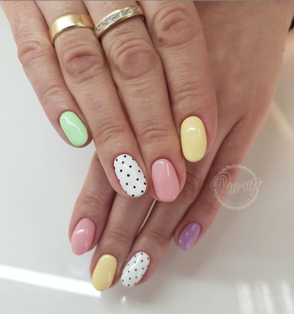 Easter nails from Pin Up Atelier - Mykidstime