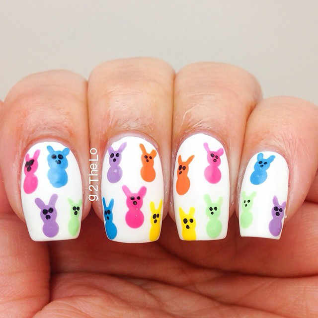 Easter nails from g2thelo - Mykidstime
