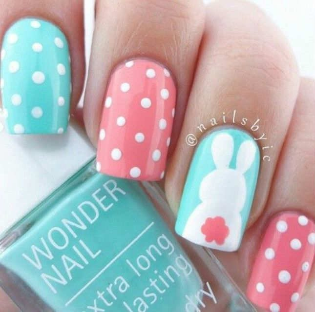 Easter nails from Nails by IC - Mykidstime