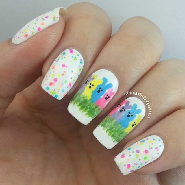 Easter nails from Nails by Jema - Mykidstime