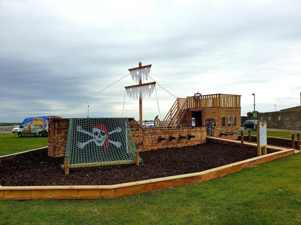 Just fun playtowers pirate ship at Hook Lighthouse