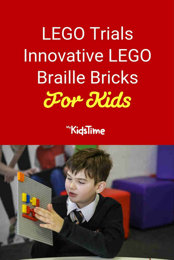 LEGO trials LEGO Braille bricks for kids - Mykidstime