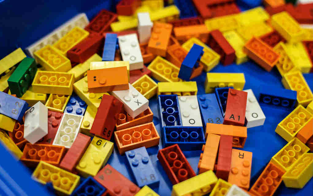 Lego braille bricks - Mykidstime