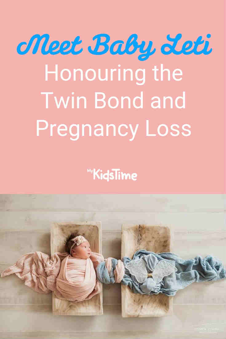 Meet Baby Leti - Honouring the Twin Bond and Pregnancy Loss - Mykidstime