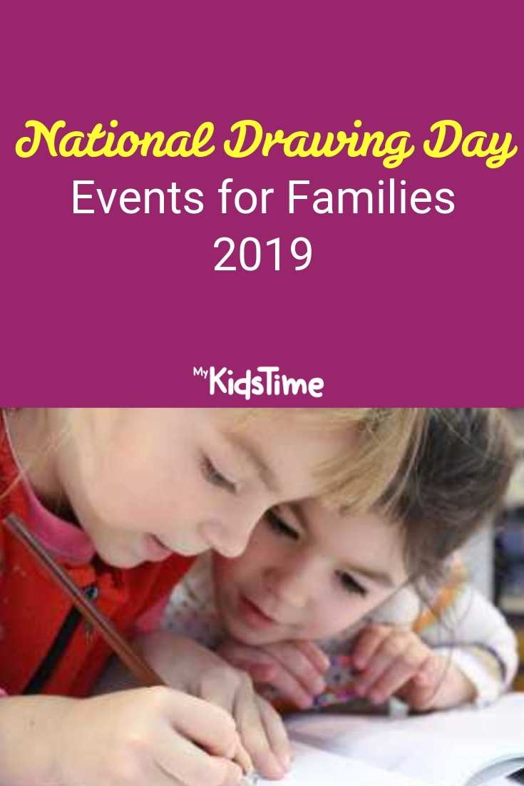 National Drawing Day 2019 Events for Families