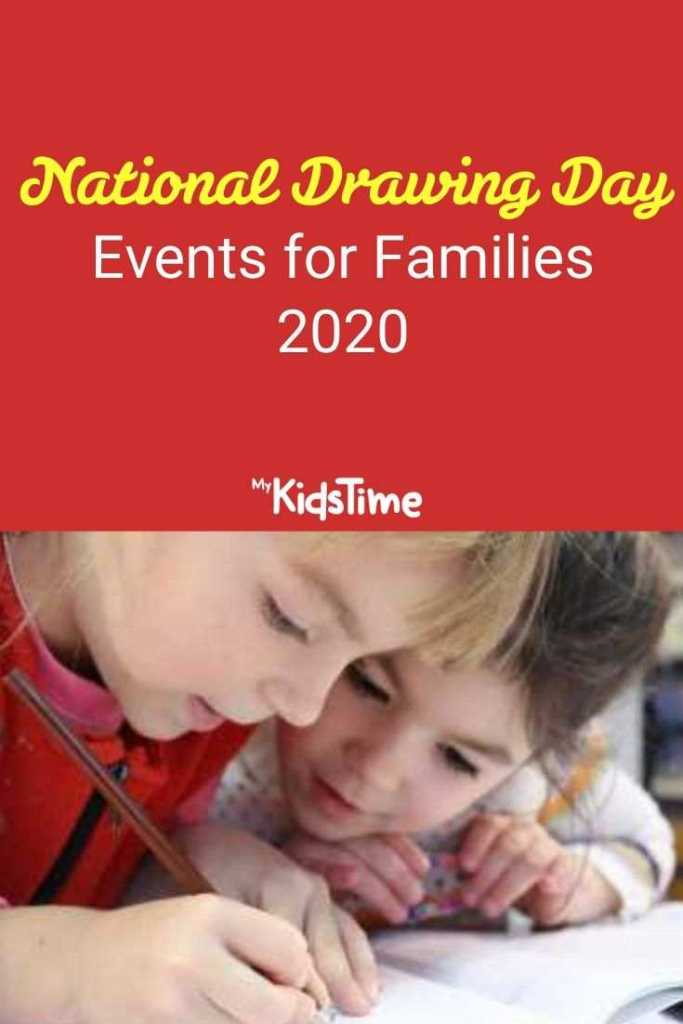 National Drawing Day Events for Families 2020