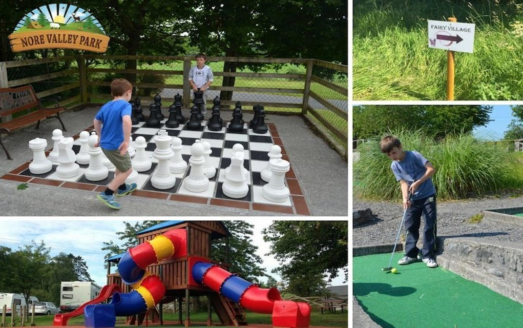 Nore Valley Park campsites with activities