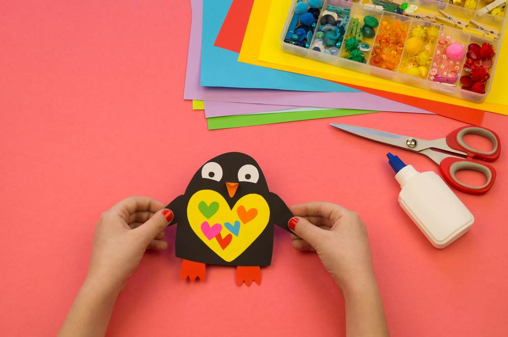 Penguin Paper Craft