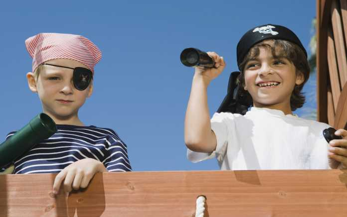 Pirates Fun family events Ireland by the water