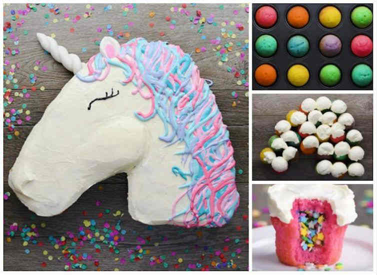 So Yummy Pull Apart Unicorn Cupcakes