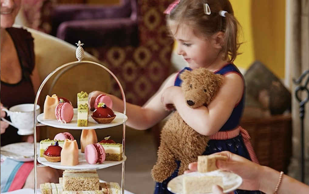 The Manor House kids afternoon tea - Mykidstime
