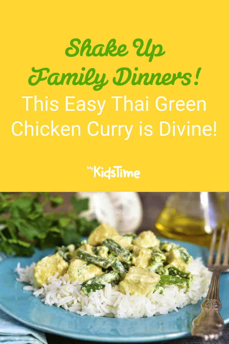 This Easy and Creamy Thai Green Chicken Curry is Divine! - Mykidstime