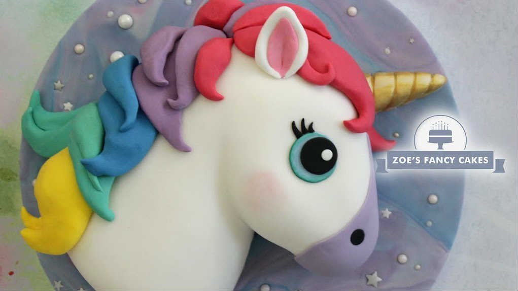 Zoe's Fancy Cakes Unicorn Cake