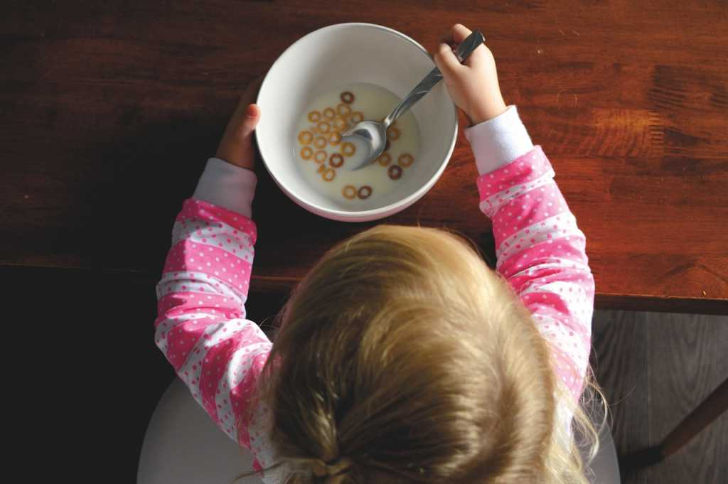 child cereal bowl