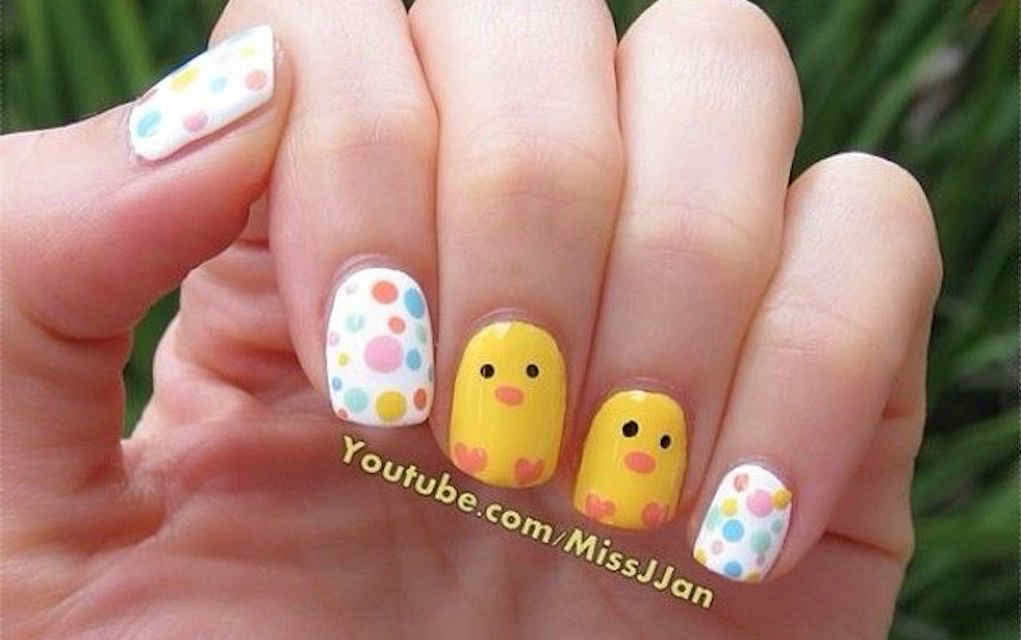 Easter nails from Missjjan - Mykidstime