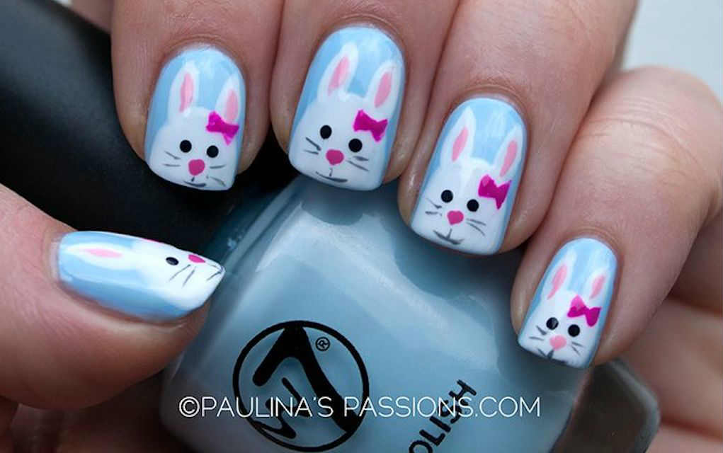 Easter nails from Paulina's Passions - Mykidstime