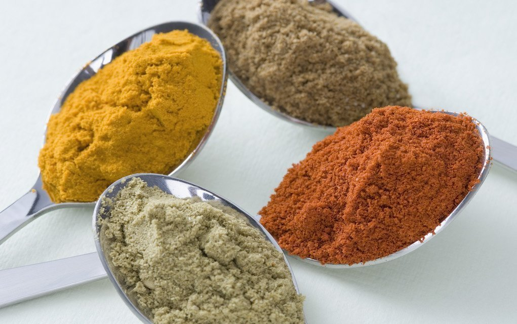 homemade chicken curry spices