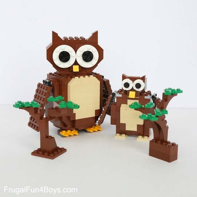 LEGO Owl instructions