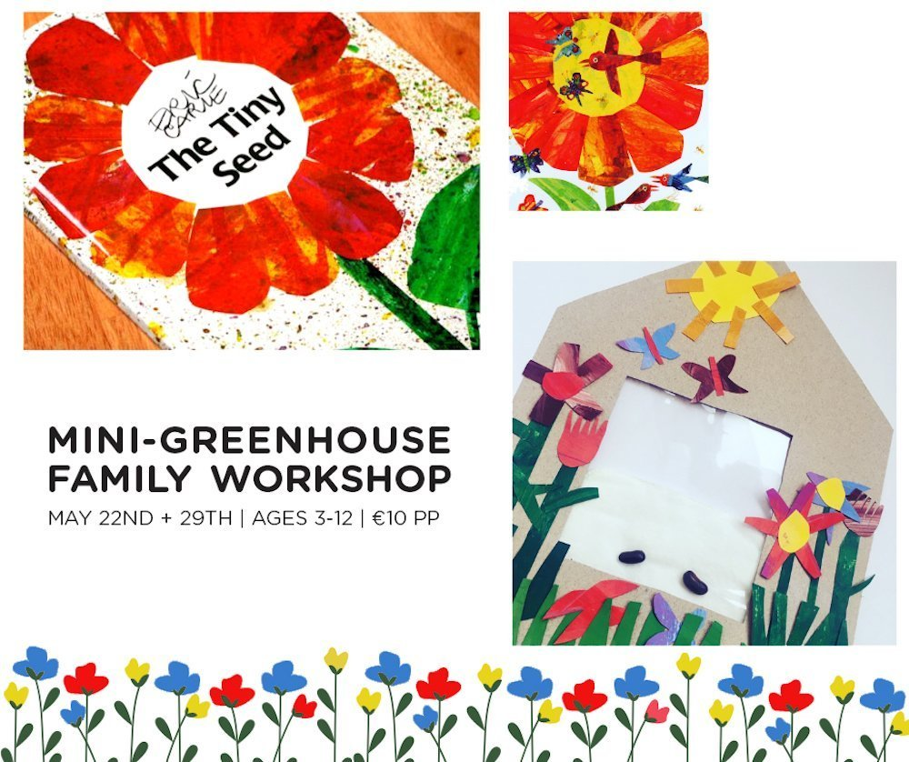 mini green house family workshop May Cool Planet Experience