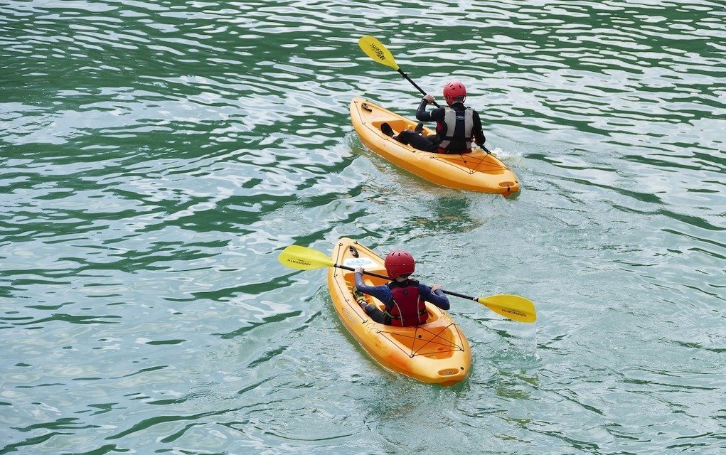 sea kayaks family friendly campsites in Ireland with activities