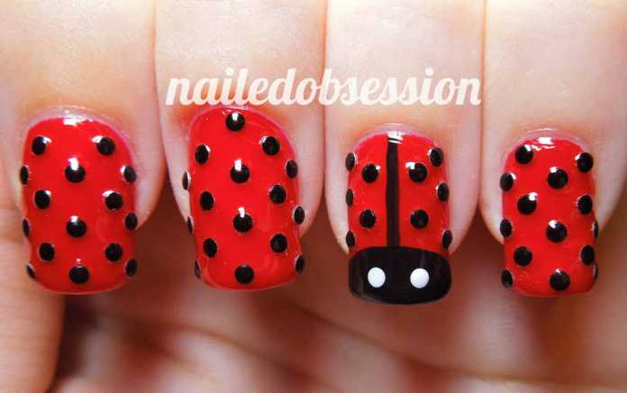Easter nails from Nailed Obsession - Mykidstime