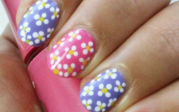 Easter nails from qtplace - Mykidstime