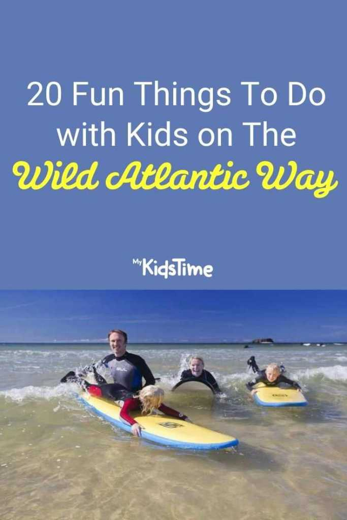 20 Fun Things to do with Kids on the Wild Atlantic Way