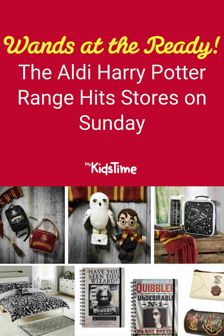 Aldi Harry Potter range - Mykidstime