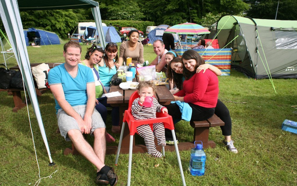 Family Camping at Lough Key win a 2 night campsite stay at Lough Key