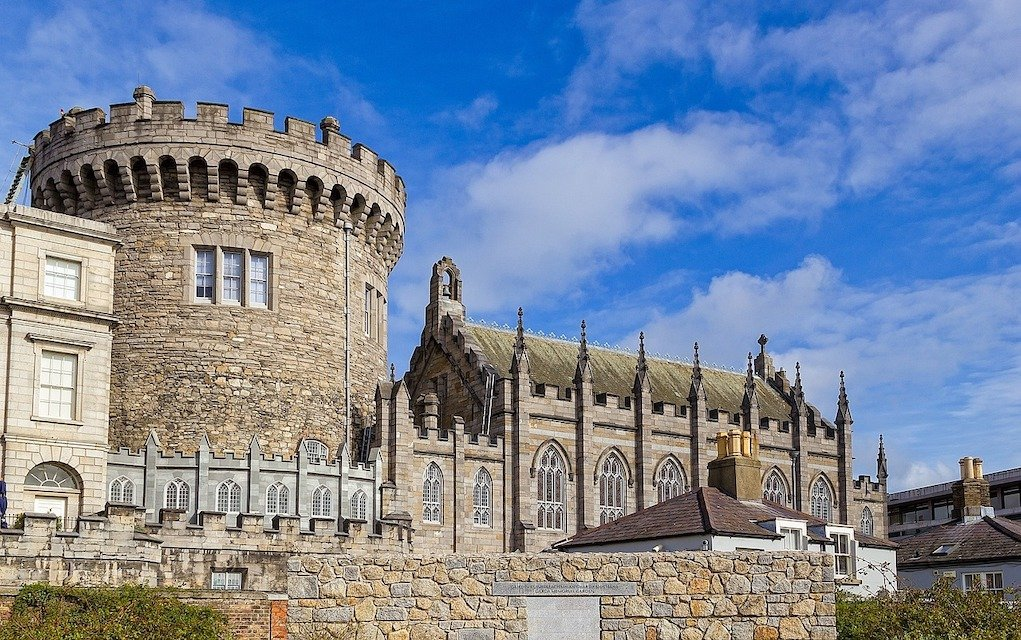 Dublin Castle historic places in Ireland horrible histories in Ireland