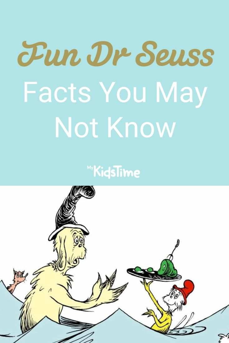 Fun Dr Seuss Facts You May Not Know