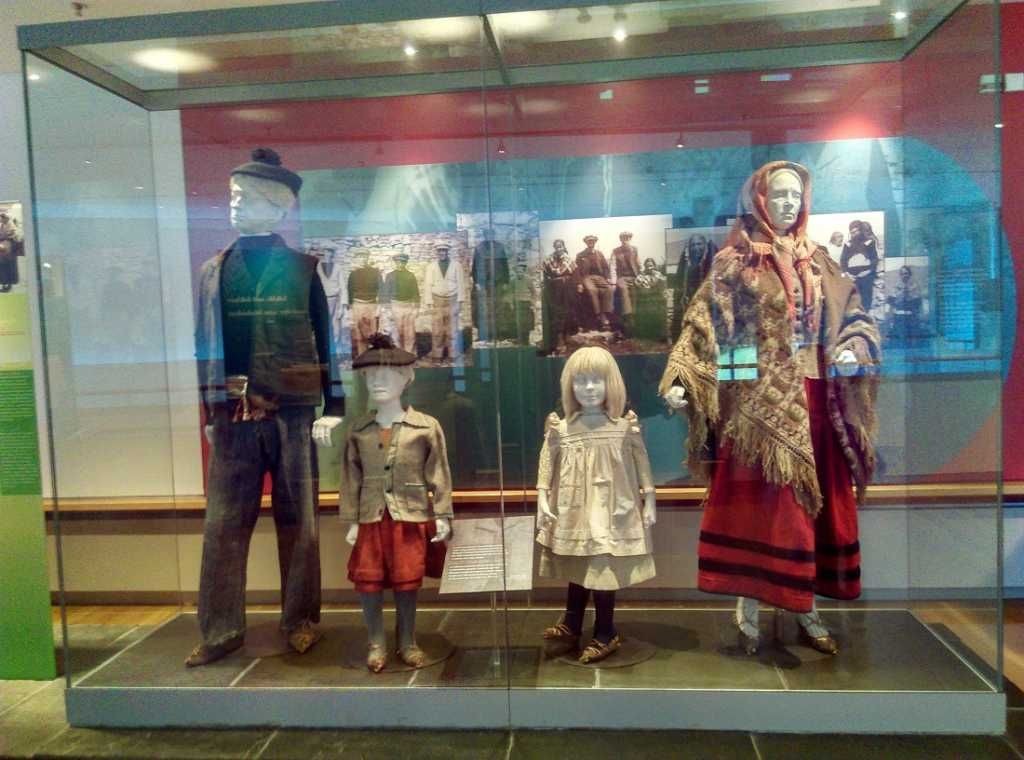 displays at National Museum of Ireland Country Life