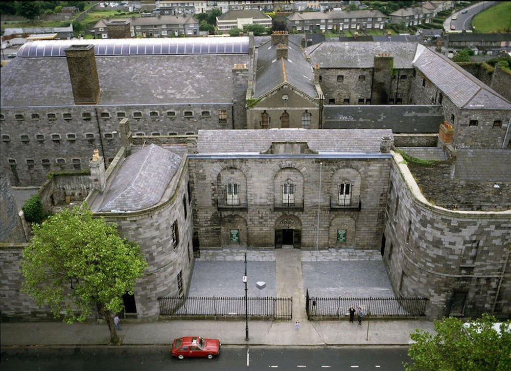 Kilmainham Gaol Entrance historic places in Ireland horrible histories in Ireland