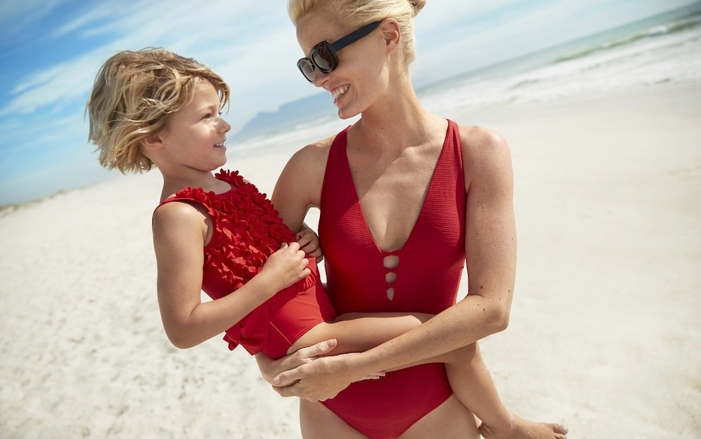 M&S mum and daughter on the beach how to choose the perfect swimwear
