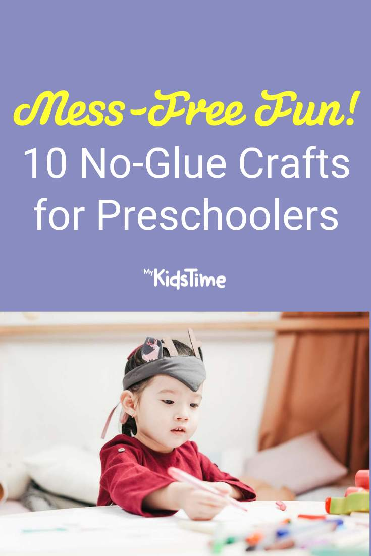 Mess-Free Fun with These 10 No-Glue Crafts for Preschoolers - Mykidstime