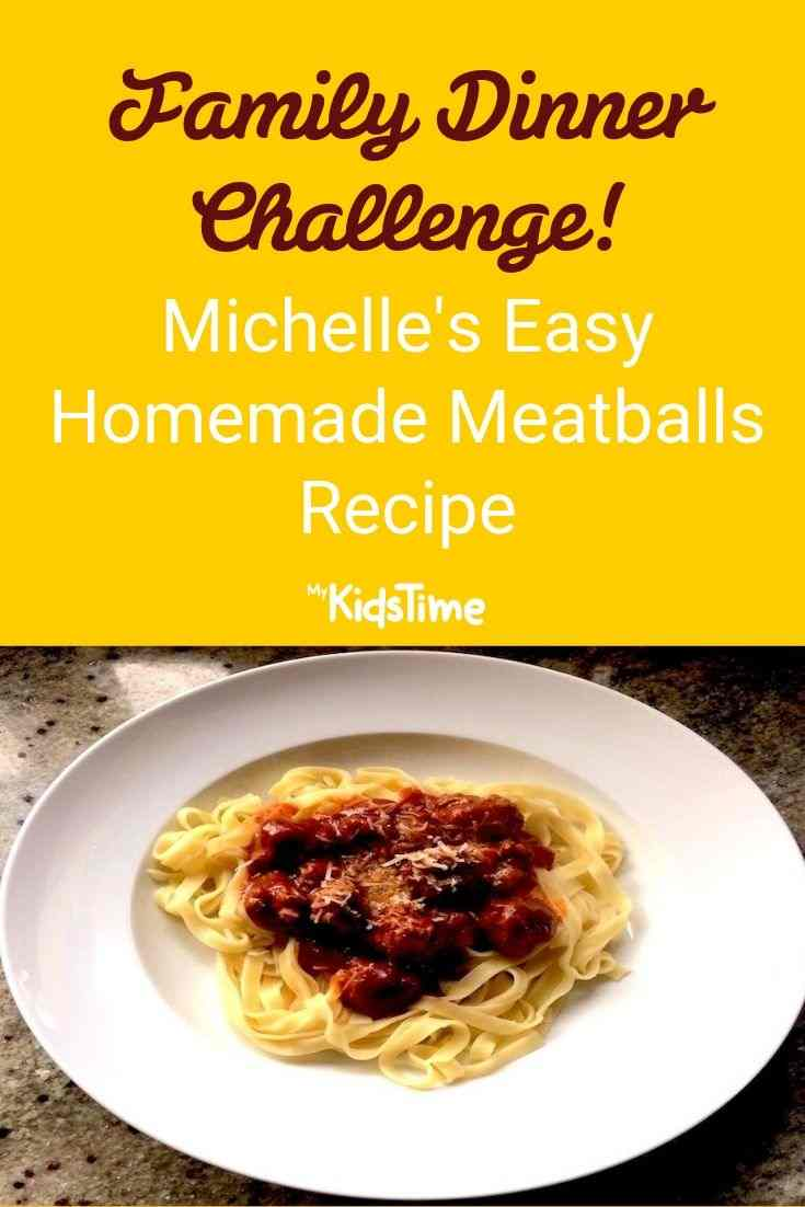 Michelle's homemade meatballs