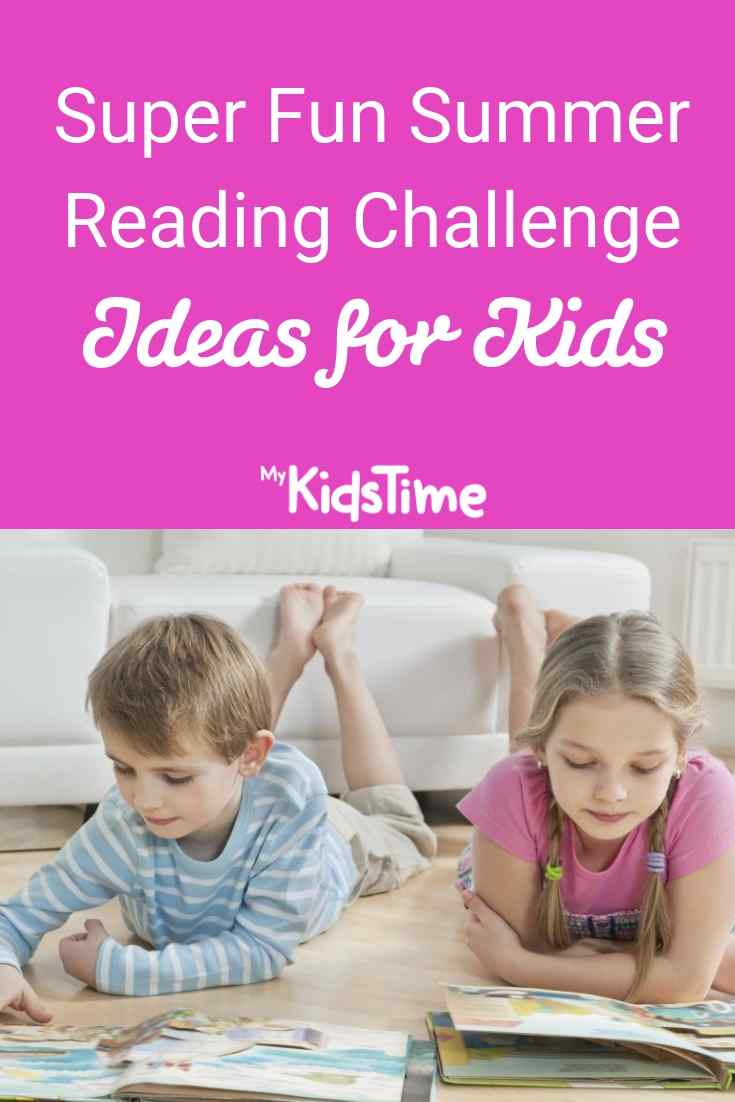 Super Fun Summer Reading Challenge Ideas for Kids