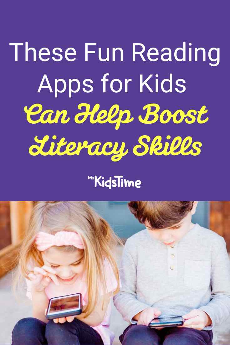 These Fun Reading Apps For Kids Can Help Boost Literacy Skills - Mykidstime