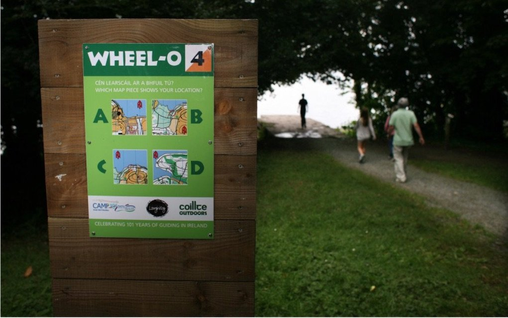 Wheel O and walking routes at Lough Key Forest and Activity Park Family Walks Roscommon