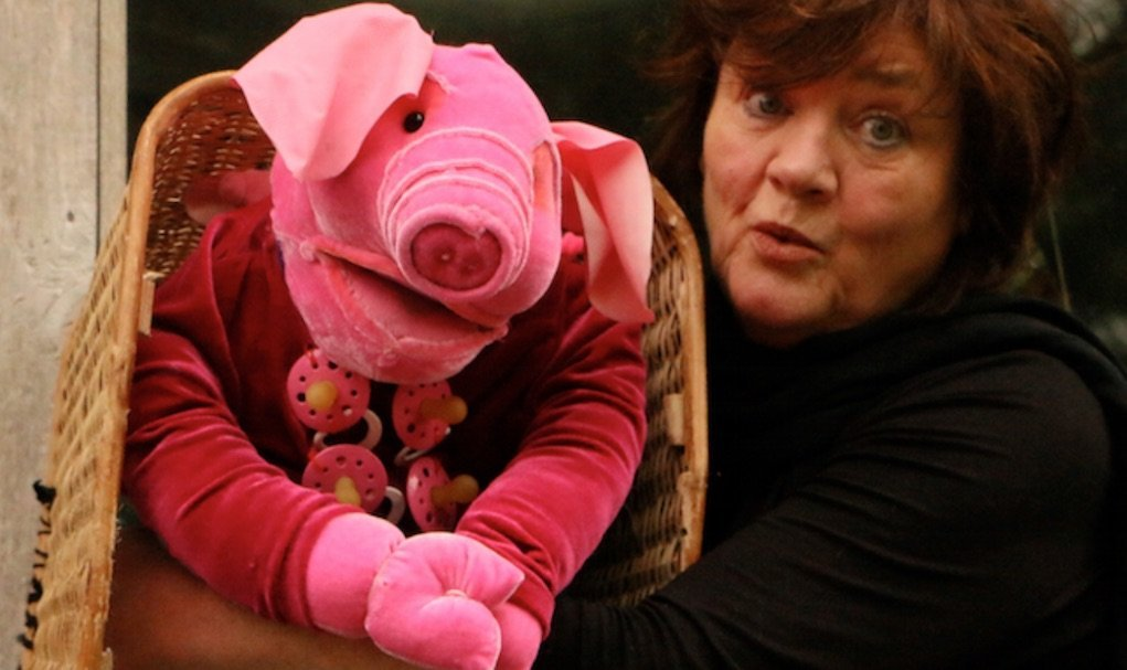 dlr mill theatre 3 little pigs with Miriam Lambert