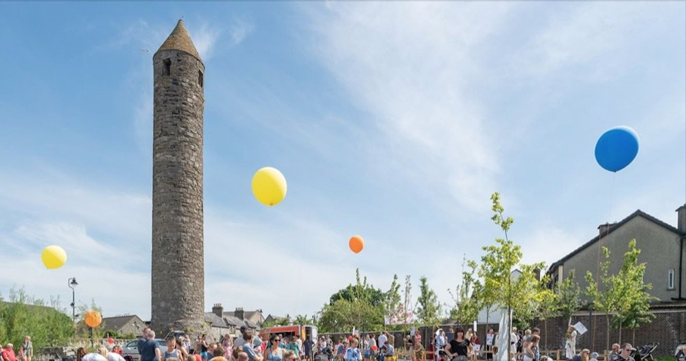 family fun day at clondalkin round tower
