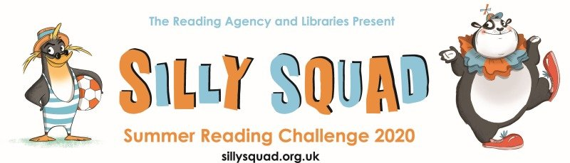 silly squad summer reading challenge 2020